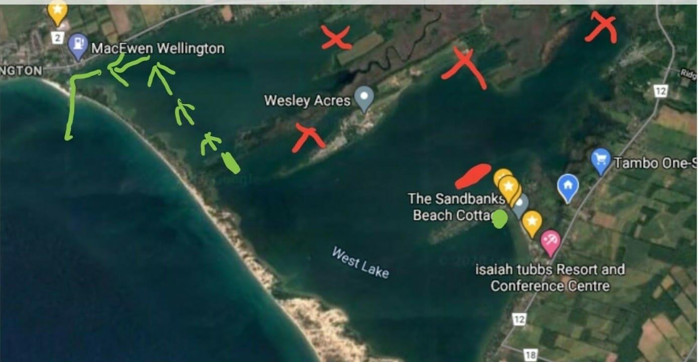 West Lake Watersports Maps
